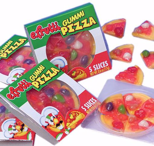 Picture of Gummi Candy Pizza - 48/Box