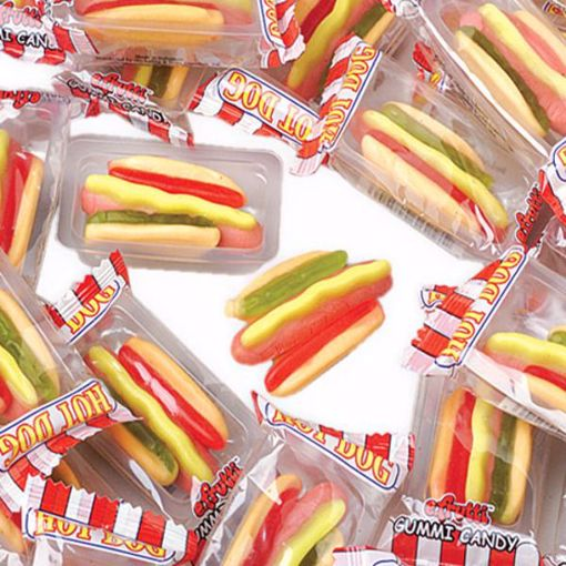 Picture of Gummy Hot Dogs - 300/case