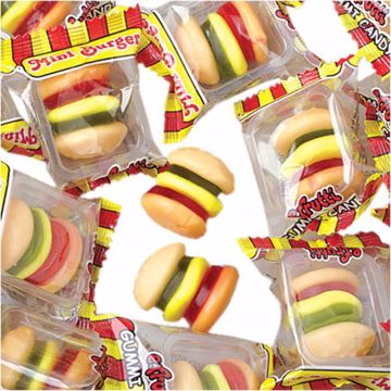 Picture of Gummy Mini Burgers - 60/Box