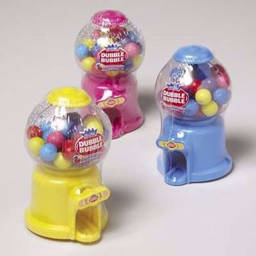 Picture of Dubble Bubble Gumball Dispenser Candy Display (pack of 72)