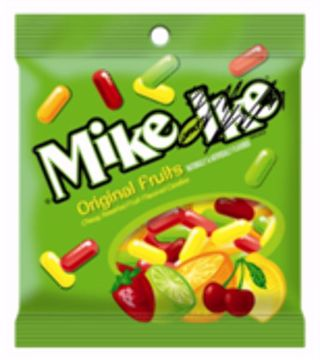 Picture of Mike & Ike Peg 5oz (pack of 12)
