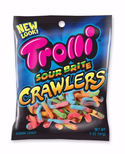 Picture of Trolli Sour Brite Crawlers Peg 5oz (pack of 12)