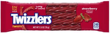 Picture of Twizzlers Strawberrt Singles - 2.5 oz 18Ct. (pack of 18)