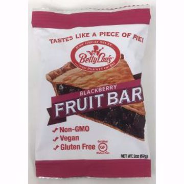 Picture of Betty Lou's Gluten Free Fruit Bar - Blackberry