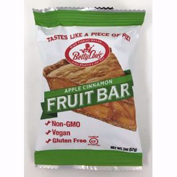 Picture of Betty Lou's Gluten Free Fruit Bar - Apple Cinnamon