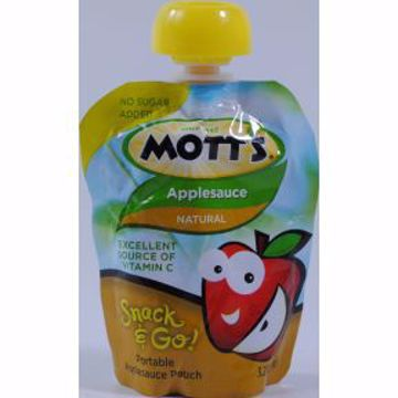 Picture of Mott's Applesauce Snack and Go Pouch Natural