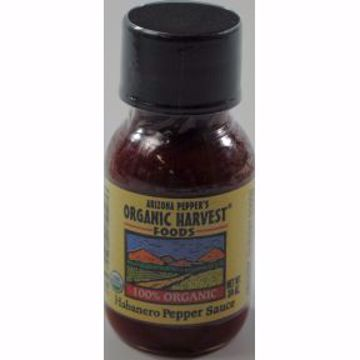 Picture of Arizona Peppers Organic Harvest Habanero Pepper Sauce