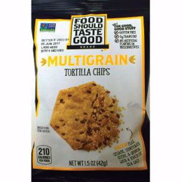 Picture of Food Should Taste Good Multigrain Tortilla Chips