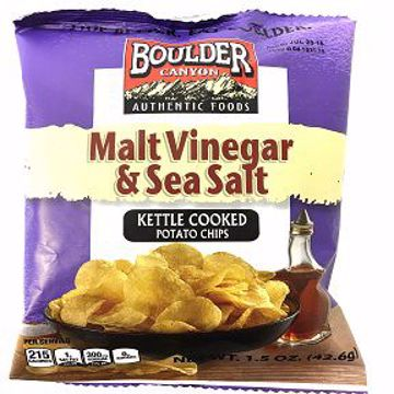 Picture of Boulder Canyon™ Potato Chips - Malt Vinegar & Sea Salt