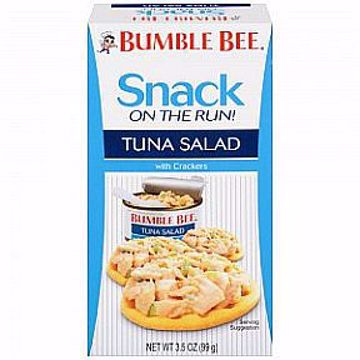 Picture of Bumble Bee Ready to Eat Tuna Salad with crackers