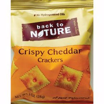 Picture of Back to Nature Crispy Cheddar Crackers