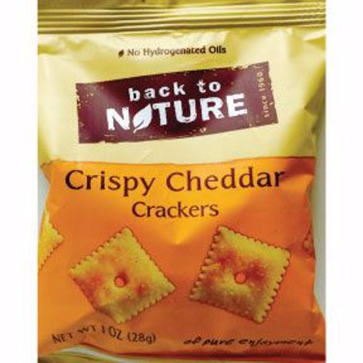 Picture of Back to Nature Crispy Cheddar Crackers (34 Units)