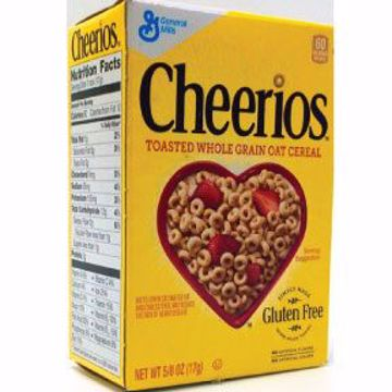 Picture of General Mills Cheerios Cereal (box)