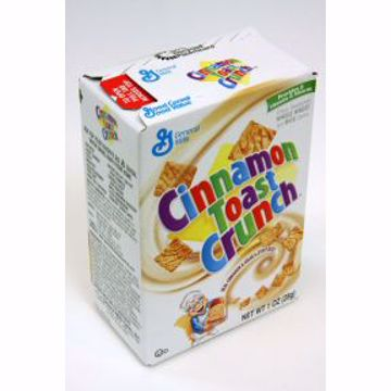 Picture of General Mills Cinnamon Toast Crunch Cereal (box)