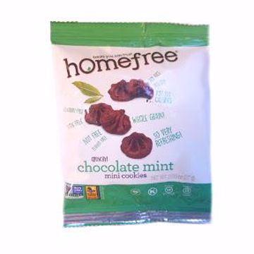 Picture of Homefree Gluten Free Chocolate Mint Mini Cookies