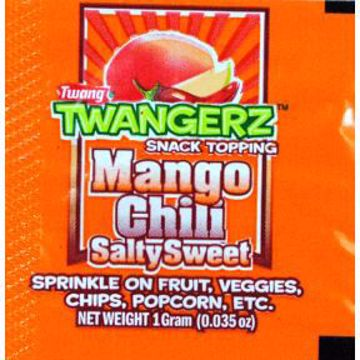 Picture of Twangerz Snack Topping Packet - Mango Chili Salty Sweet