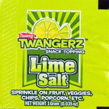 Picture of Twangerz Snack Topping Packet - Lime Salt
