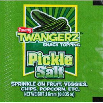 Picture of Twangerz Snack Topping Packet - Pickle Salt