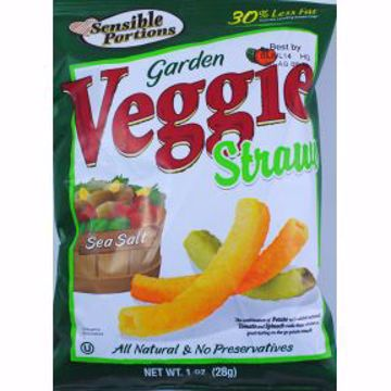 Picture of Sensible Portions Garden Veggie Straws - Sea Salt
