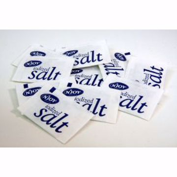 Picture of Salt Packets - Iodized, Generic Brand, 100 pack