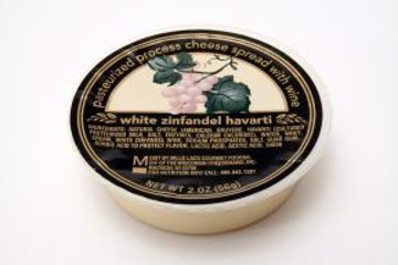 Picture of Cheese Spread with Wine - White Zinfandel Havarti