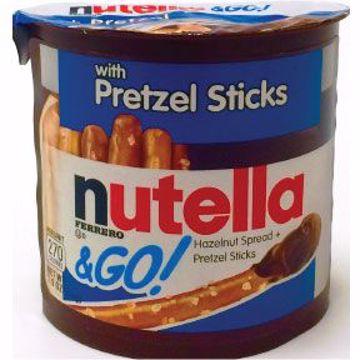 Picture of Nutella & Go! Hazelnut Spread & Pretzel Sticks