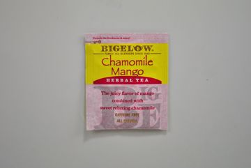 Picture of Bigelow Chamomile Mango Herbal Tea - Packet