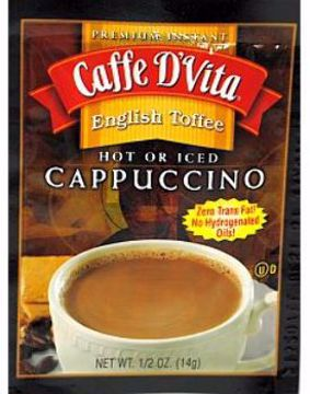 Picture of Caffe D'Vita Cappuccino - English Toffee