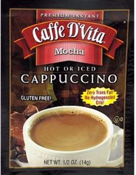 Picture of Caffe D'Vita Cappuccino - Mocha (pack of 72)