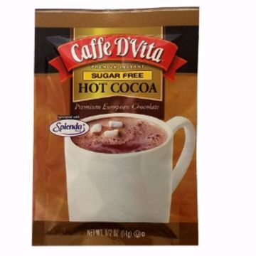 Picture of Caffe D'Vita Sugar Free Premium Hot Cocoa (pack of 48)
