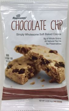 Picture of Simply Wholesome Soft Baked Chocolate Chip Cookie 1.4 oz