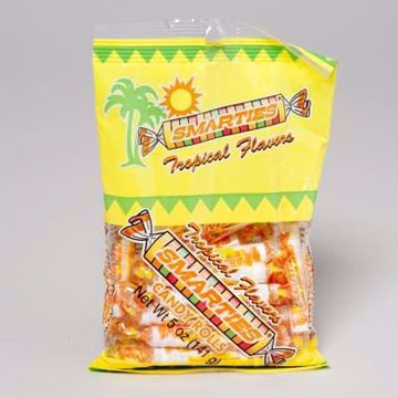 Picture of Smarties Tropical Candy 5 Ounce Bag
