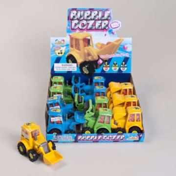 Picture of Bubble Dozer Truck - Bubble Gum (pack of 144)