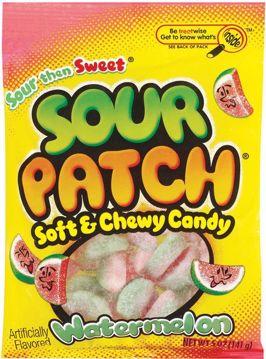 Picture of Sour Patch Watermelon Peg 5 Oz. 12 Count