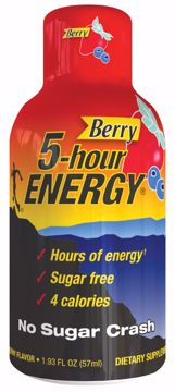 Picture of 5 Hour Energy Berry 2 Oz. 12 Count