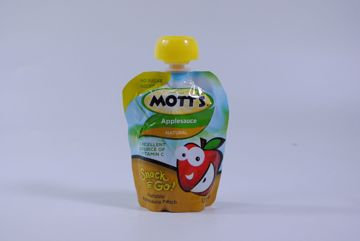 Picture of Motts Applesauce Snack & Go! Pouch - Natural (3.2 oz.)