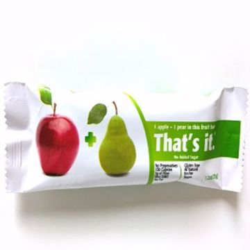 Picture of That's It. Fruit Bar - Apple & Pear (1.2 oz.)