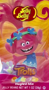 Picture of Jelly Belly Jellybeans - DreamWorks Trolls Hugfest Mix (1 oz.)