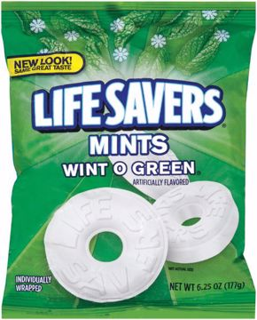 Picture of Lifesavers Wintogreen Peg 6.25 oz