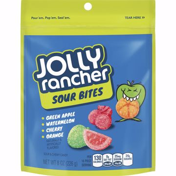 Picture of Jolly Rancher Sour Bites Pouch 8oz