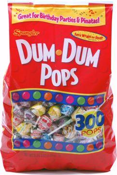 Picture of Spangler Dum Dum Pops 300ct