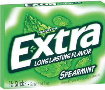 Picture of Extra Spearmint Gum Slim Pk 15 Pc