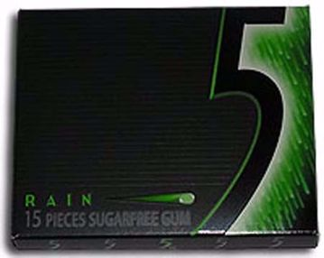Picture of 5 Rain Gum 15 Pc 10 Count