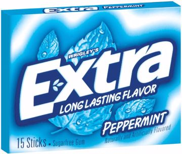Picture of Extra Peppermint Gum Slim Pk 15 Pc