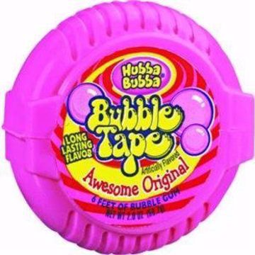 Picture of Hubba Bubba Bubble Tape Orig 12 Count
