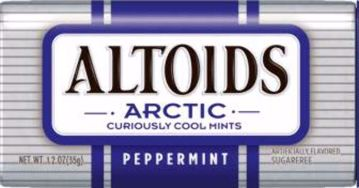 Picture of Altoids Arctic Peppermint 1.2oz