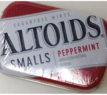 Picture of Altoids Peppermint Sugar-Free Smalls