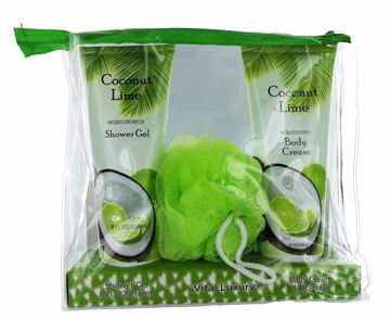 Picture of Vital Luxury Shower Gel/Body Cream Set - Coconut Lime