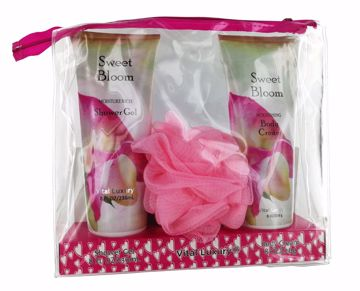 Picture of Vital Luxury Shower Gel/Body Cream Set - Sweet Bloom