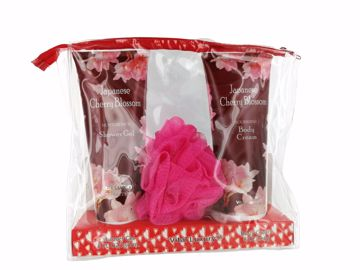 Picture of Vital Luxury Shower Gel/Body Cream Set - Japanese Cherry Blossom